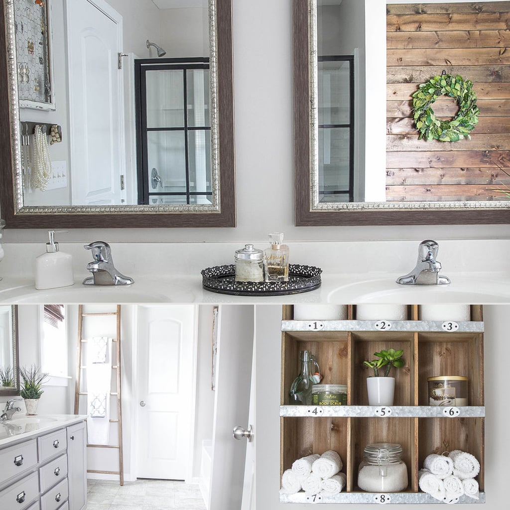Rustic Bathroom Makeover
