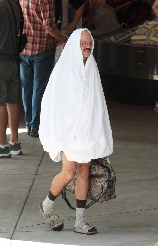 David Cross reported to work wearing an interesting costume.