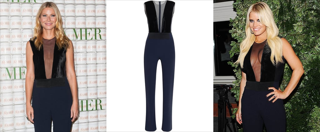 Gwyenth Paltrow and Jessica Simpson Wearing Galvan Jumpsuit
