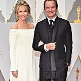 Sting and Trudie Styler at the 2017 Oscars