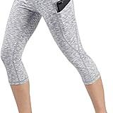 Ododos Out Pocket High Waist Yoga Pants — Capris