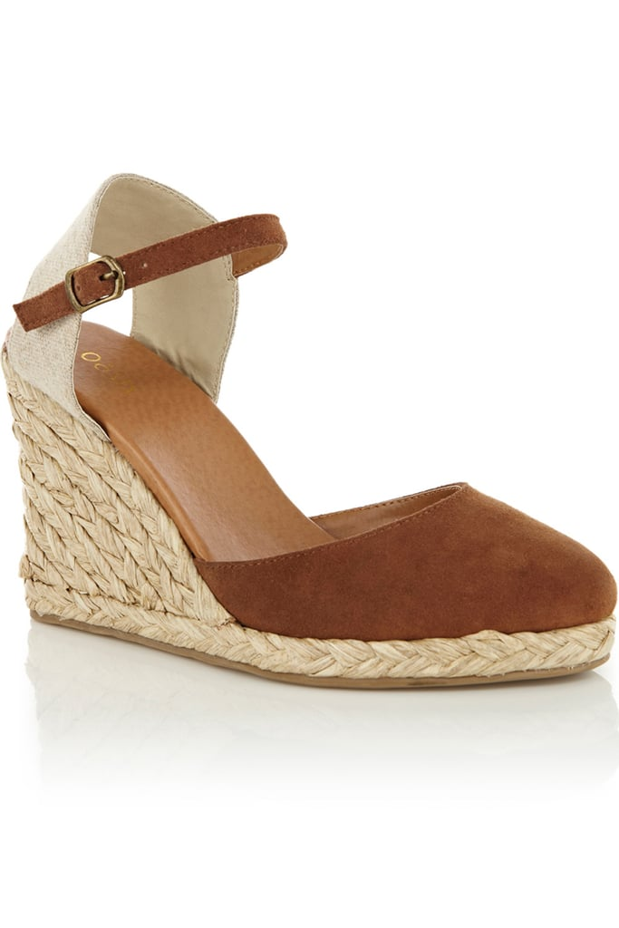 The Summer season calls for a simple yet sleek espadrille wedge, one that goes with everything from your flow-iest dresses to your slickest trousers, and this one is it.