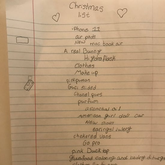See This 10-Year-Old's Ridiculously Expensive Christmas List