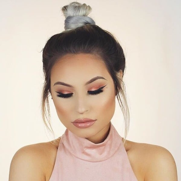 We're Calling It — Peach Makeup Will Be the Dominating Colour Trend For Spring 2017