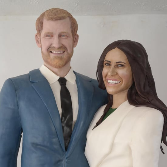 Life-Size Prince Harry and Meghan Markle Cakes