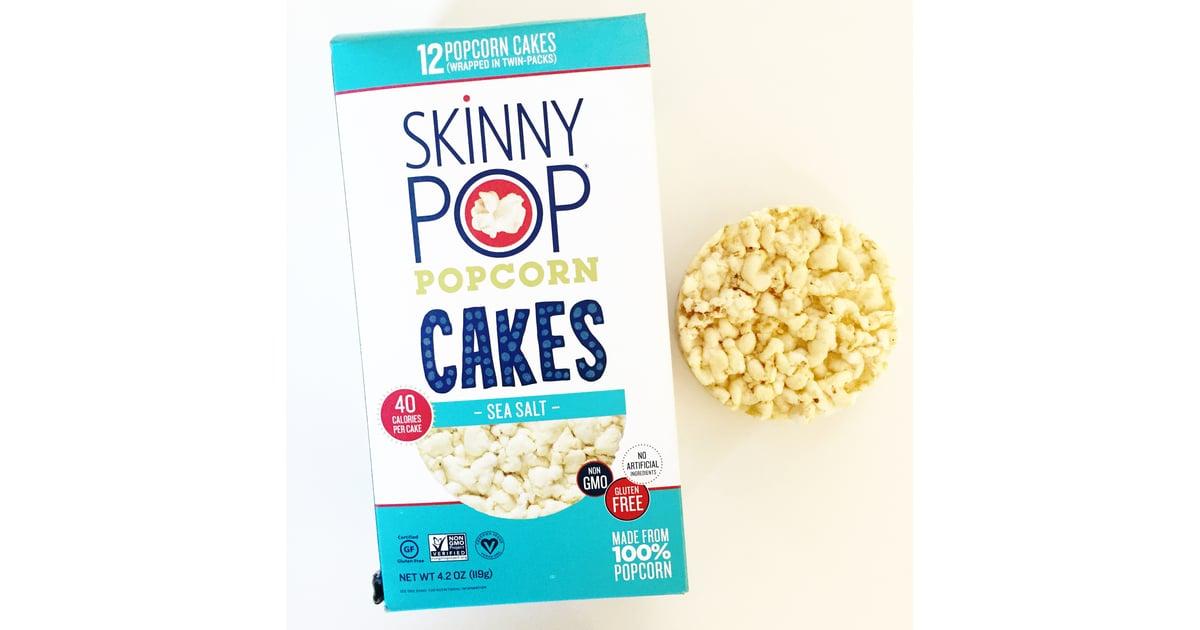 Skinny Pop Popcorn Cakes In Sea Salt Best New Snacks