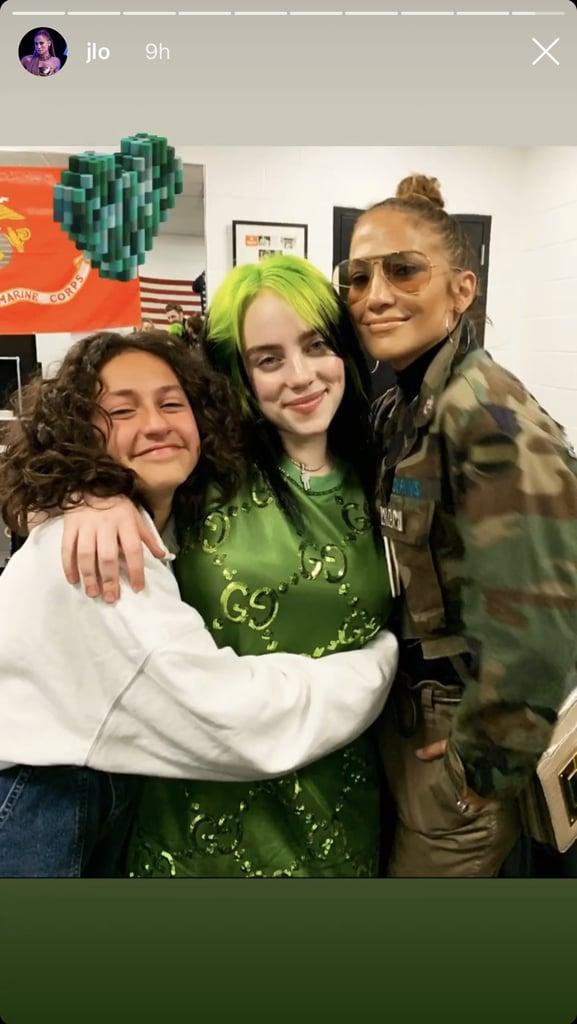 See J Lo's Daughter, Emme, Meeting Billie Eilish