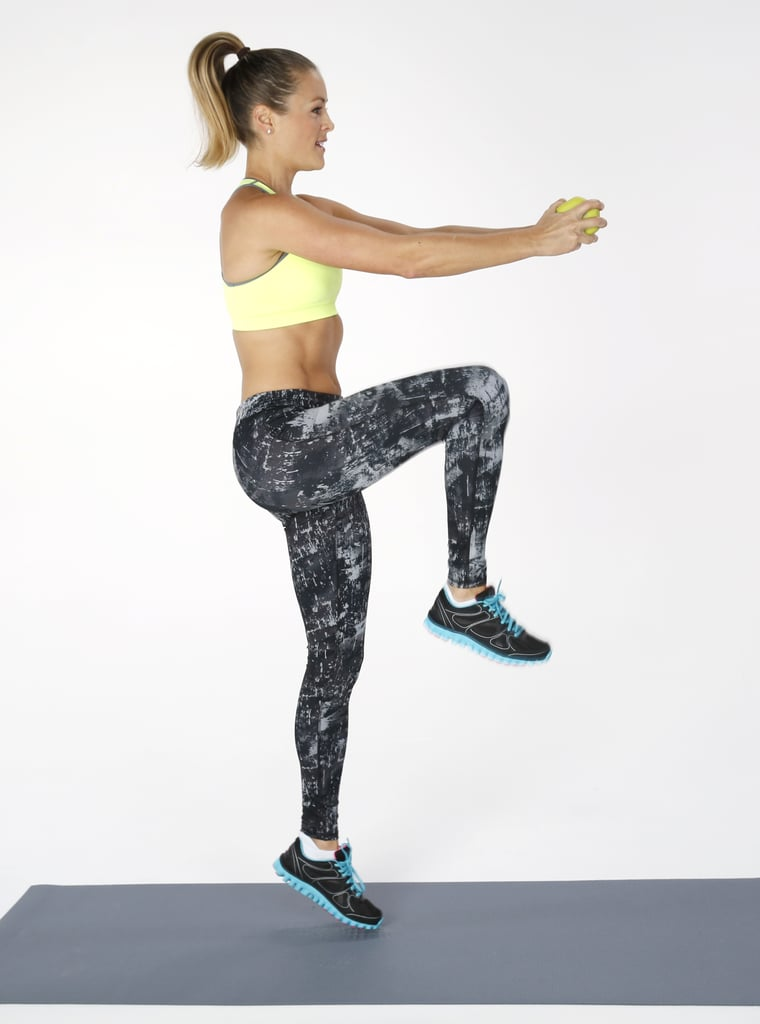 5-Minute Standing Ab Workout | POPSUGAR Fitness UK