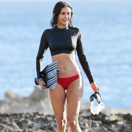 Nina Dobrev in a Bikini in Hawaii Pictures June 2017
