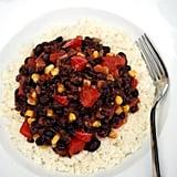 Cauliflower Rice and Beans