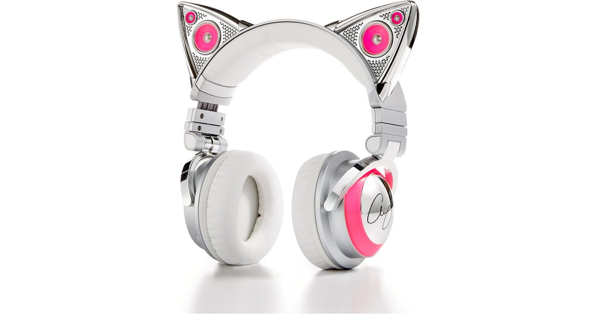 Brookstone Bluetooth Cat Headphones | Cute Headphones | POPSUGAR Tech Photo 9