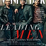 Matt Damon, George Clooney, and Daniel Craig cover Vanity Fair 2012.