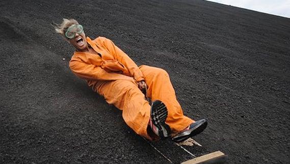 Try Volcano Boarding