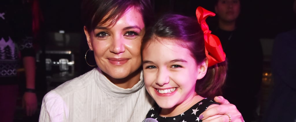 Katie Holmes and Suri Cruise Have a Festive Mother-Daughter Date Night in NYC