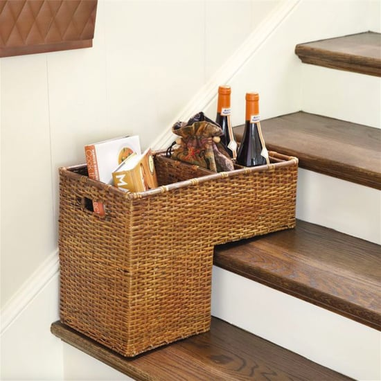 Stair Baskets For Storage