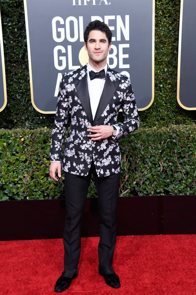 Darren Criss at the 2019 Golden Globes