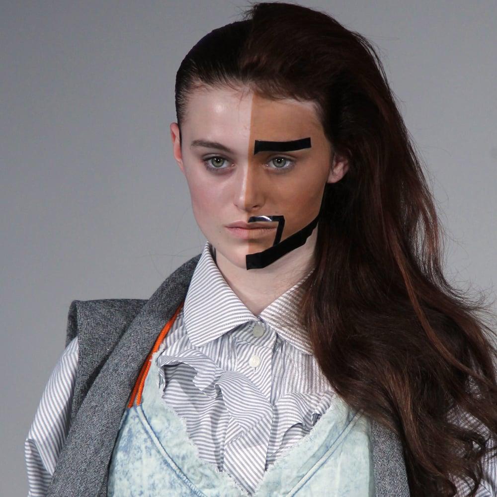 Bernhard Willhelm's Makeup For Fall 2012 Paris Fashion Week