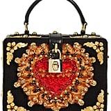 Dolce & Gabbana Dolce Box Embellished Cross-Stitched Bag