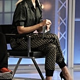 Project Runway Episode 5: Karlie's Jacquard Trousers