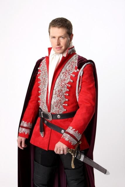 Josh Dallas as Prince Charming / John Doe on ABC's Once Upon a Time.