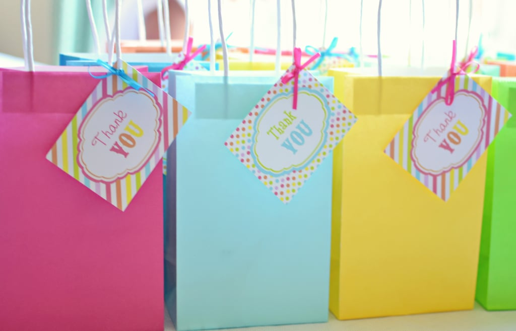 Rainbow Birthday Party Favors