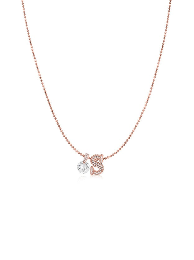 Zaxie Not Your Boyfriend's Initial Necklace