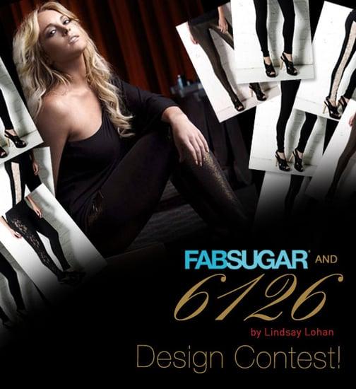 FabSugar and Lindsay Lohan 6126 Legging Design Contest