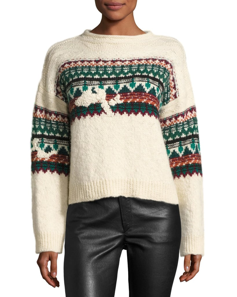 Etoile Isabel Marant Elsey Fair Isle Sweater | Holiday Sweaters ...