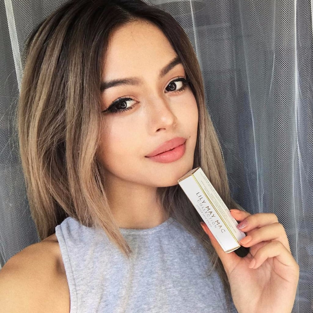 australian instagram star lily may mac launches makeup