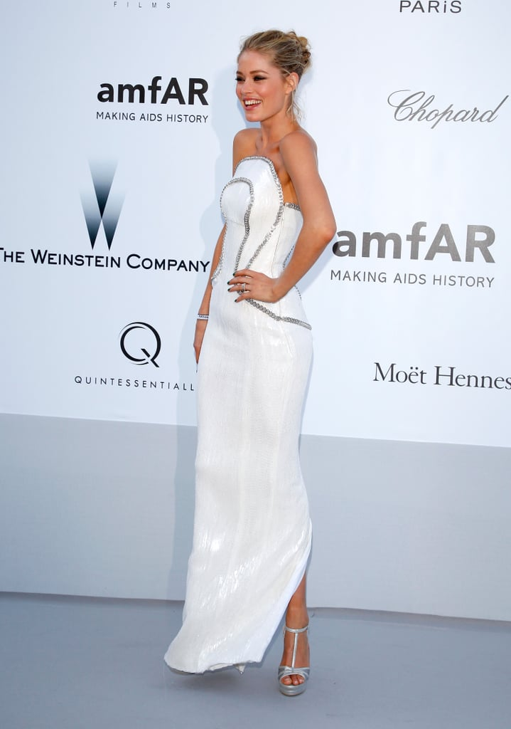 Nina, Kirsten, Diane, and More Step Out For the Very Glamorous amfAR Gala