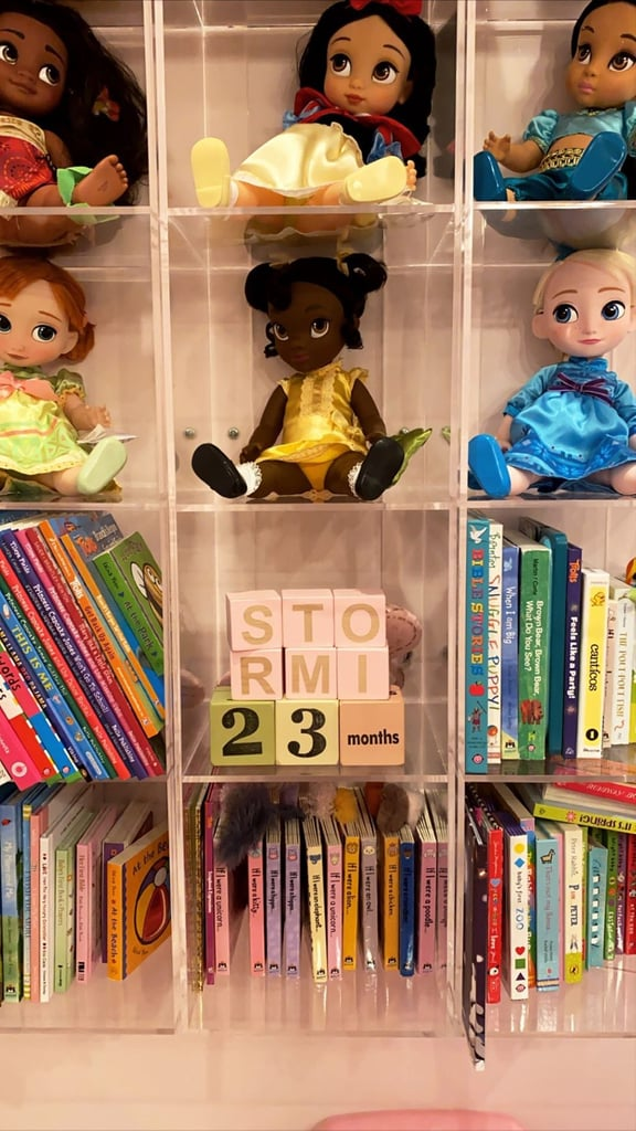 Kylie Jenner Gave Us a Peek at Stormi's Bookshelf, and the Girl Has Great Taste!