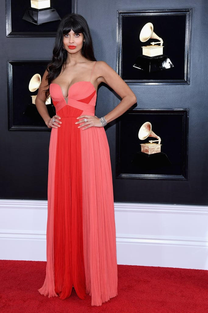 Jameela Jamil at the 2019 Grammy Awards