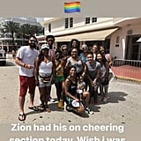 Gabrielle Union Supports Stepson at Pride