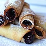 Boysenberry Dessert Flautas at Ghost Town Grub