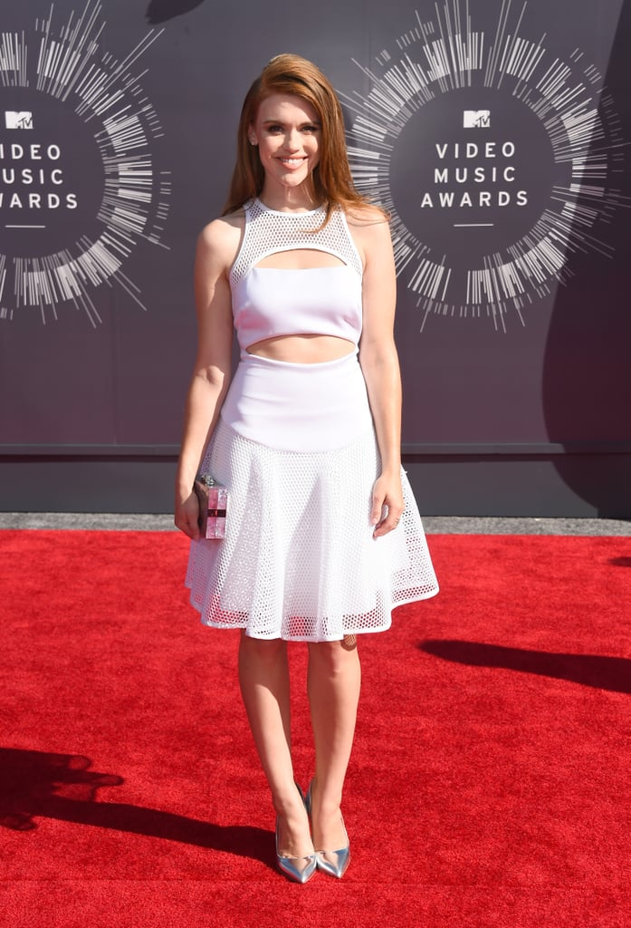Holland Roden at the 2014 MTV VMAs