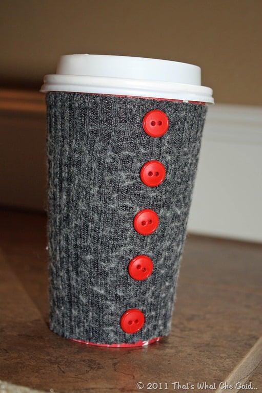 DIY a Coffee Cup Cozy
