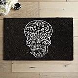 Pier 1 Imports Metallic Glitter Skull Doormat ($15, originally $25)