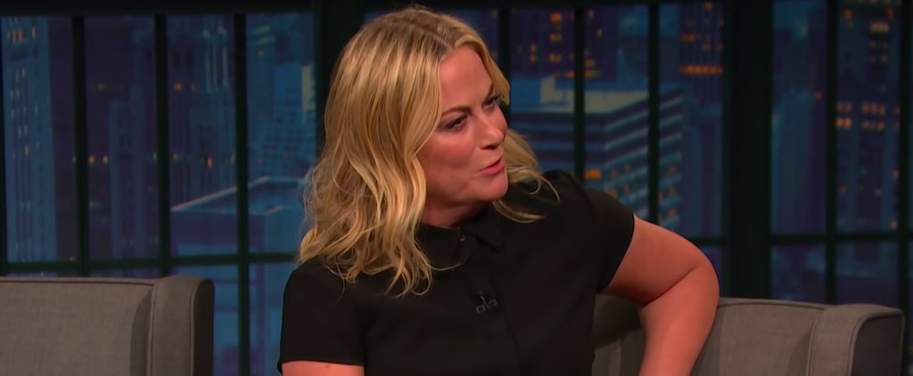 Amy Poehler Talking About Archie on Seth Meyers