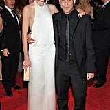 Dree Hemingway in Calvin Klein, with Italo Zucchelli