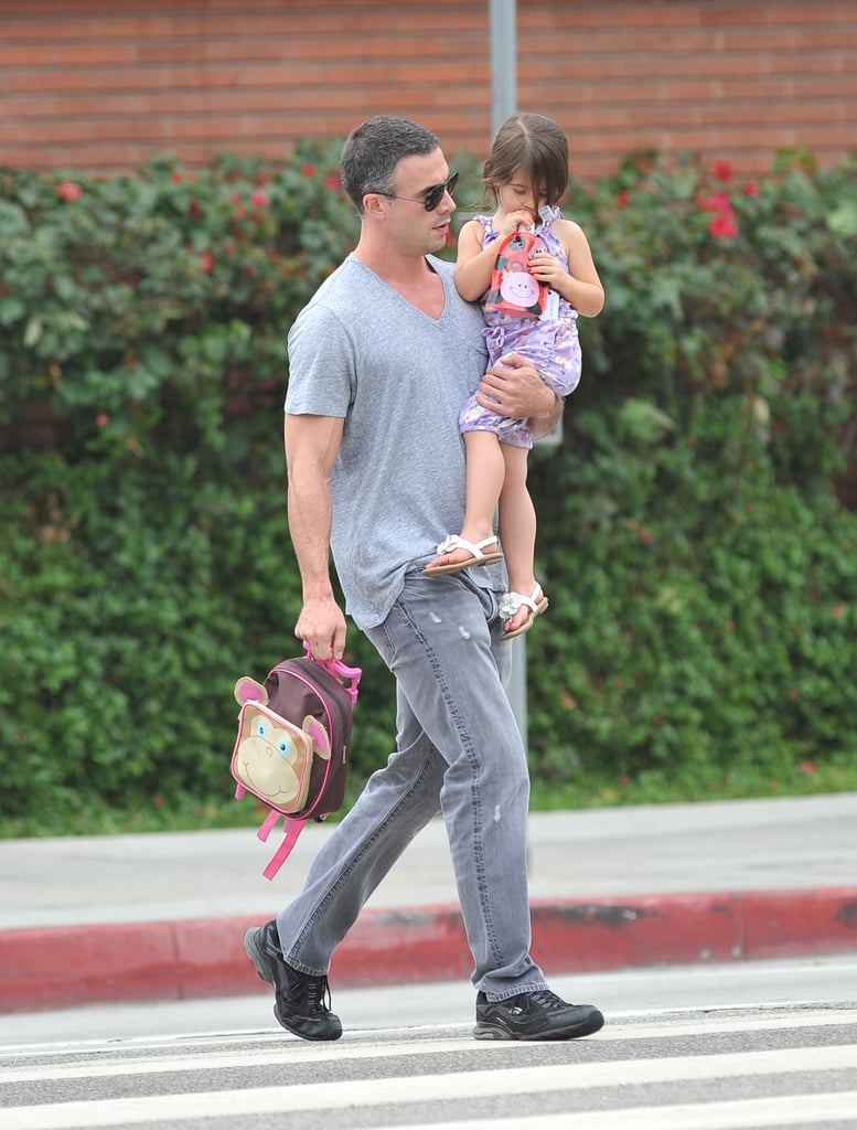 Freddie Prinze Jr. and Charlotte Prinze walked to school together.