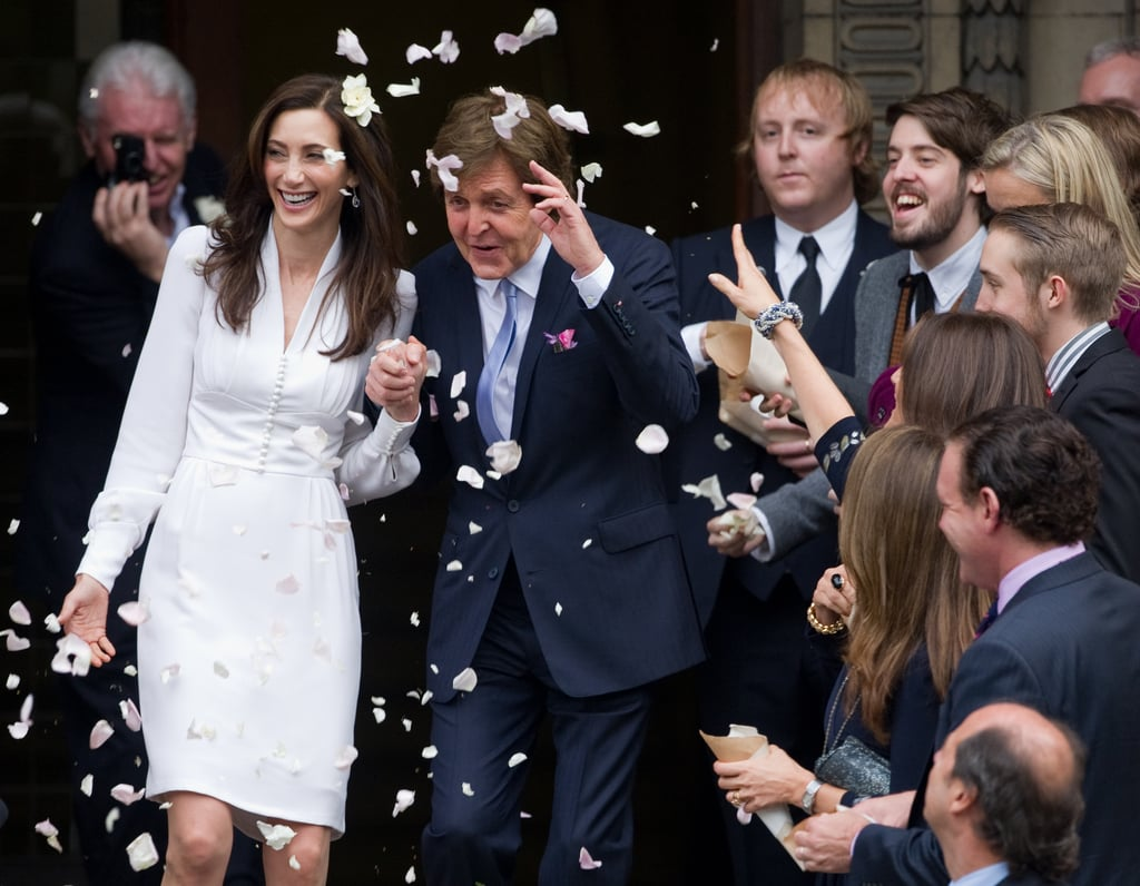Nancy shevell paul mccartney wedding
