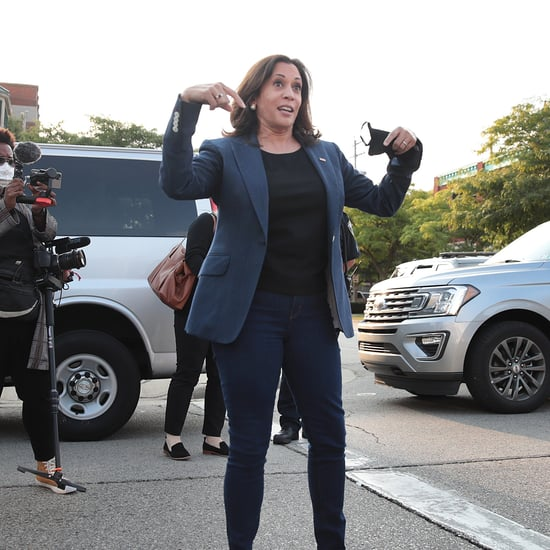 Kamala Harris Wears Black Converse While Campaigning