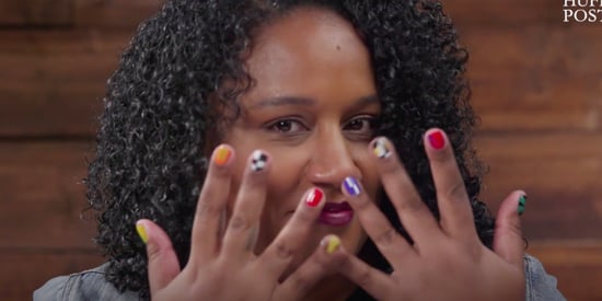 Dominican Nail Artist Calls Out Social Issues With Woke Nail Designs