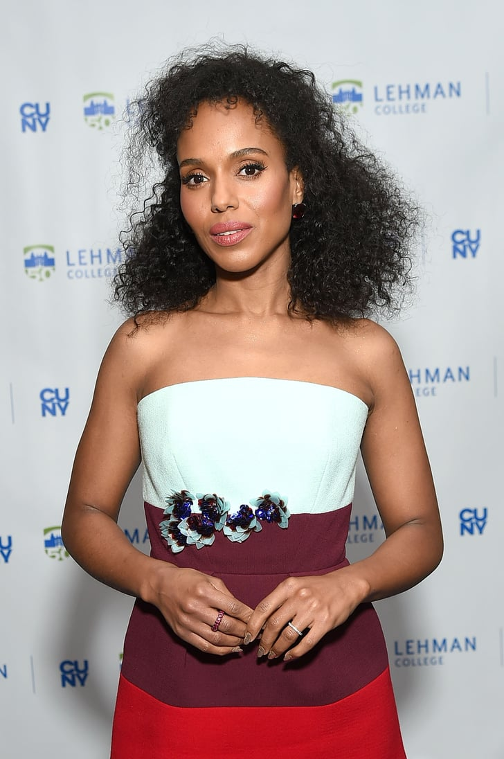 Kerry Washington Wears Her Curls 4 Different Ways in 1 Day ...