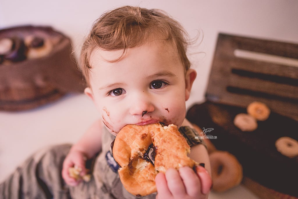 Instead of Cake Smashes, 2 Little Ones Chowed Down on Doughnuts in Adorable Photoshoots