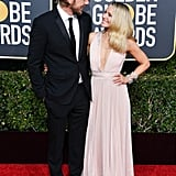 Kristen Bell and Dax Shepard at the 2019 Golden Globes