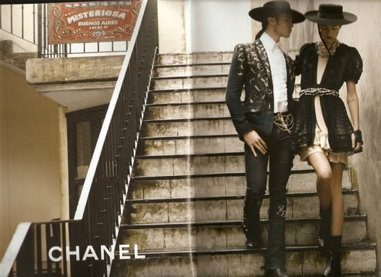 Chanel Spring 2010 Ads With Claudia Schiffer 2010-01-04 09:00:08