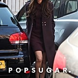 Victoria Beckham ran errands in London.