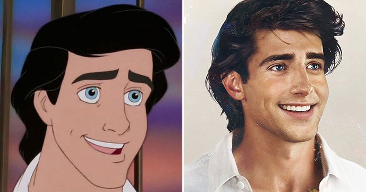 Some of Our Favorite Disney Princes Look Hot as Hell in This Realistic Artwork