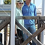 Naomi Watts and Liev Schreiber arrived at the Venice Film Festival.